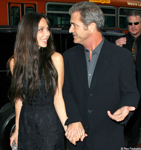 54 year old Mel Gibson and his 39 year old Russian Lady, Oksana Grigorieva